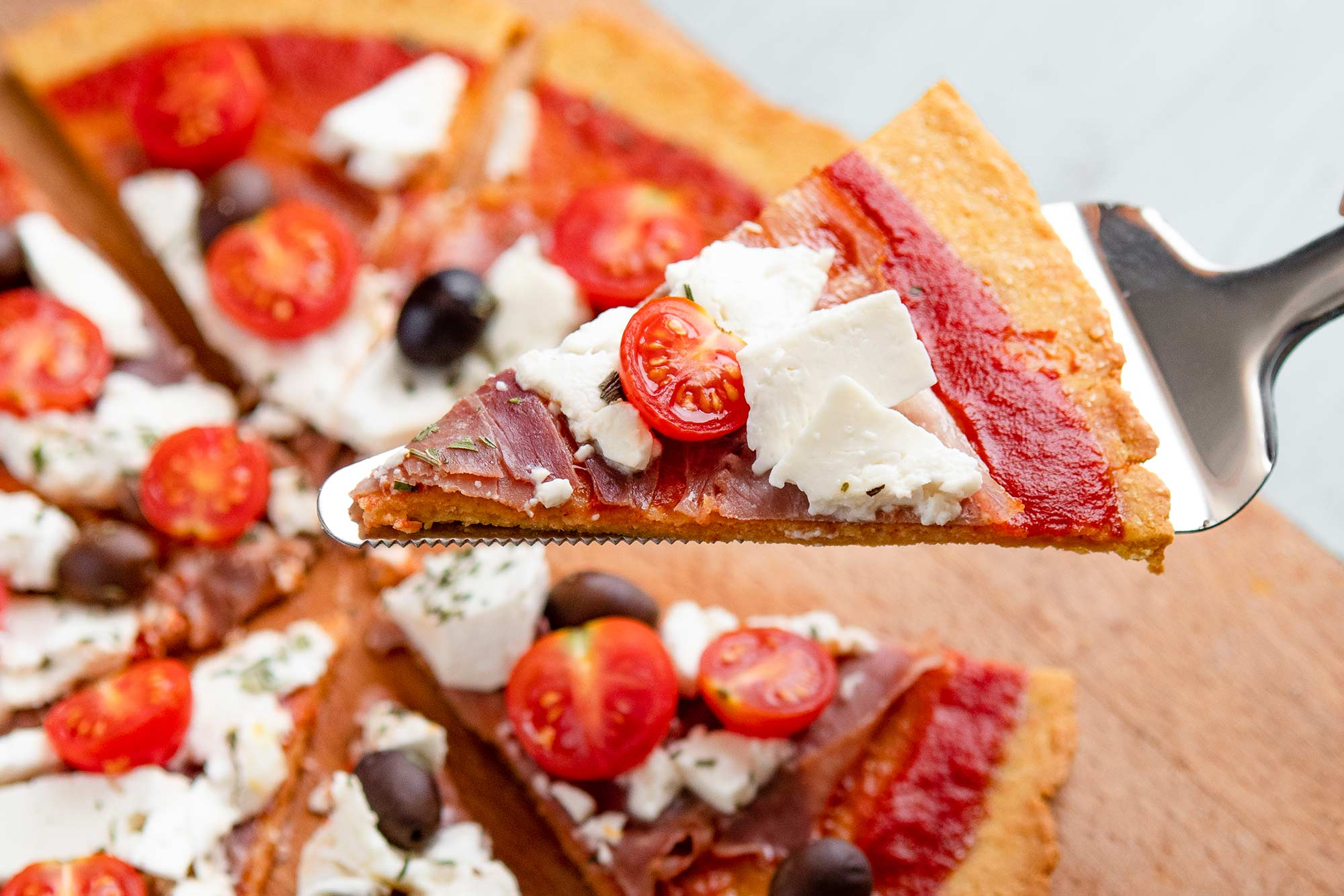 La pizza cétogène