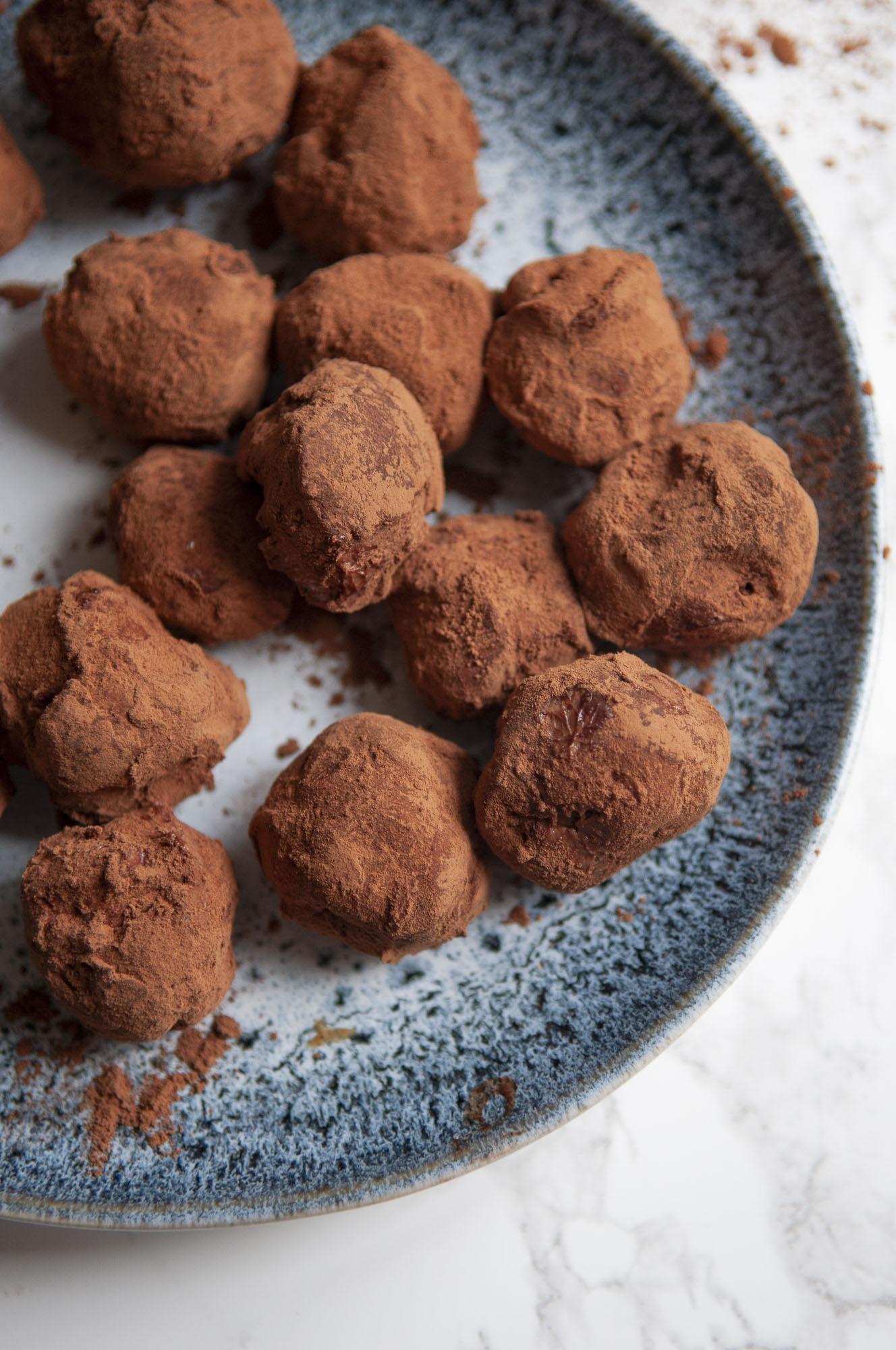 Les truffes au chocolat keto