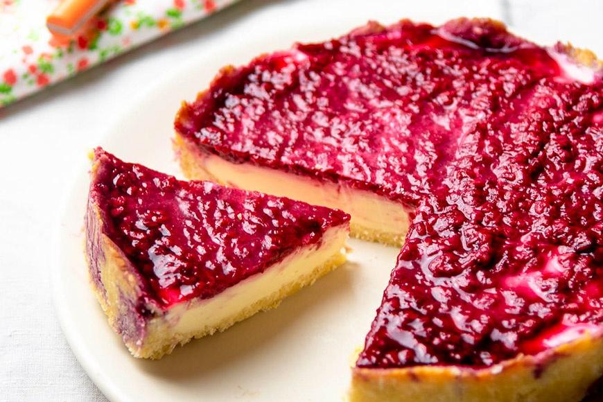 Cheese-cake coco-framboise keto