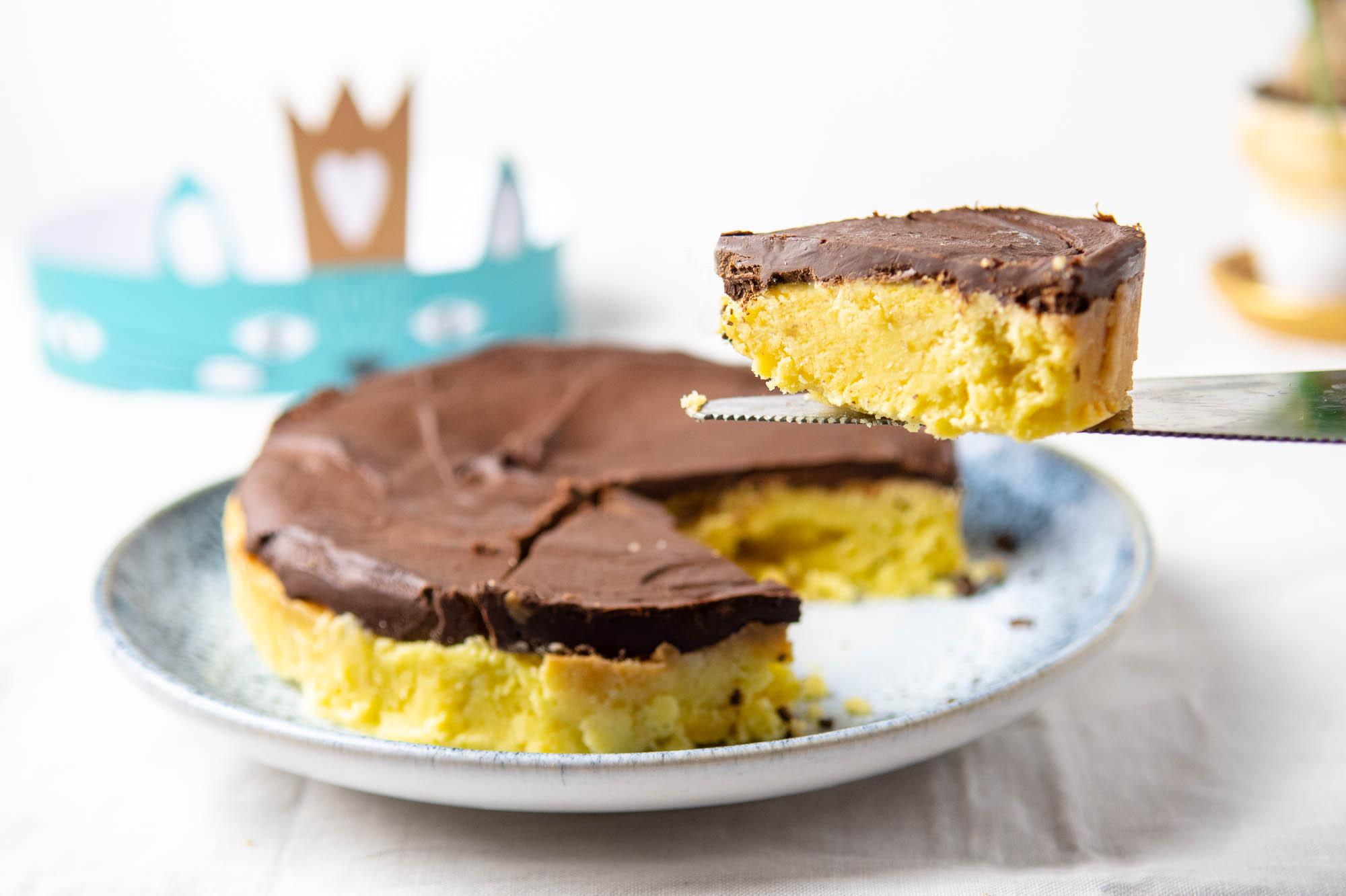 Ma galette des rois cétogène amandes et chocolat